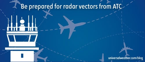 Be Prepared for Radar Vectoring in China