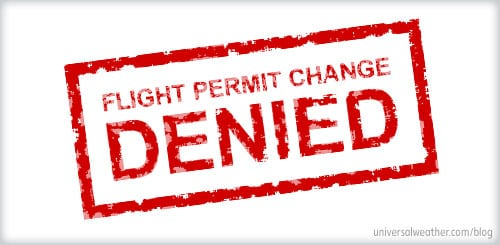 Flight Permit Change Denied
