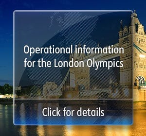 Operational information for the London Olympics