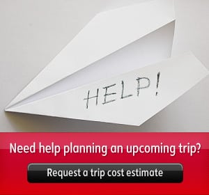 Need help planning an upcoming trip? Request a trip cost estimate.
