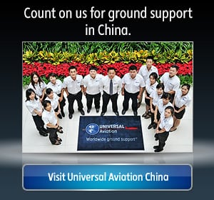 Aircraft Ground Support in China | Universal Aviation