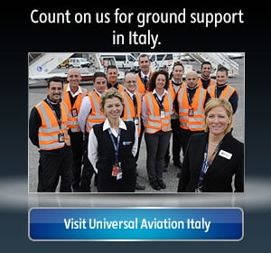 Aircraft Ground Support and FBO in Italy | Universal Aviation