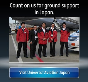 Aircraft Ground Support in Japan | Universal Aviation