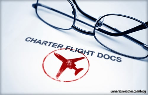 Charter Flight Documents - Business Aviation