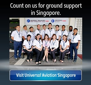 Aircraft Ground Support and FBO in Singapore | Universal Aviation