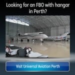 FBO and Aircraft Hangar in Perth, Australia