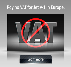 Pay no VAT for Jet A-1 in Europe. Learn more.