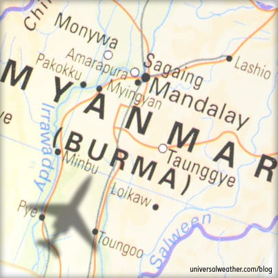 Business Aviation Operations to Myanmar (Burma) - U.S. Sanctioned Countries Series