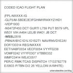 Flight Planning, Weather & NOTAMS for Singapore