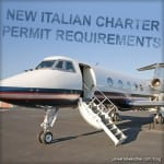 Changes in Italian Charter Flight Permit Regulation - Explained
