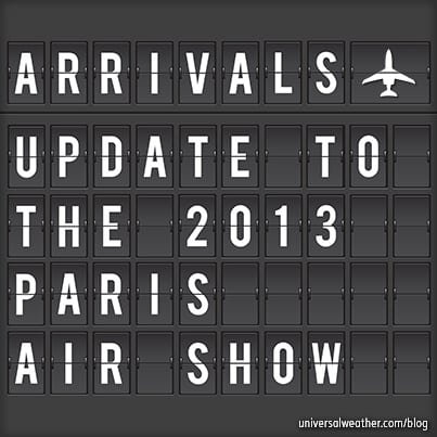 Paris Air Show 2013 Update – Requirements for Bizav Operators