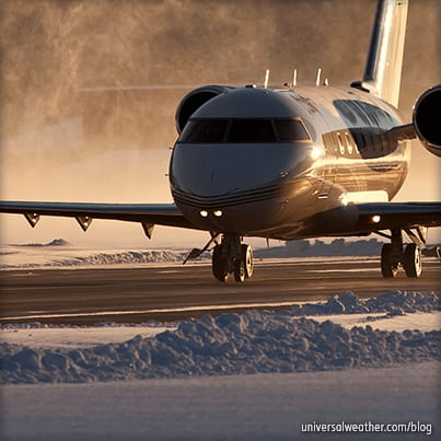 Winter Business Aircraft Operations to Paris, France