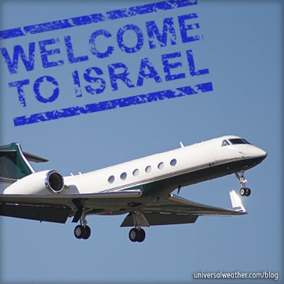 Business Aviation Trip Planning Tips: Operating to Israel Part 1 – Permit Requirements