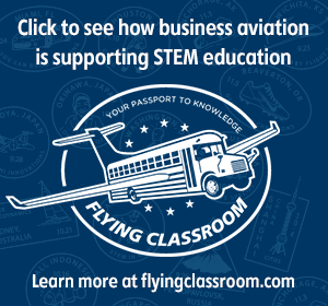 Click to see how business aviation is supporting STEM education.