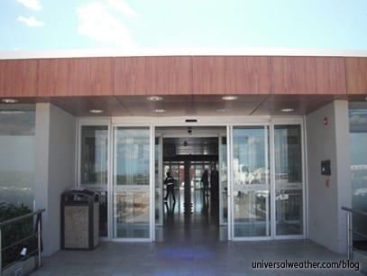 Rampside entrance to the FBO, taken 11/11/14