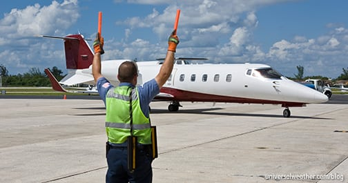 Business Aircraft Operations to Aruba: Ground Handling and Security