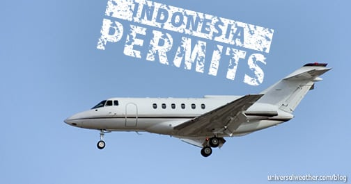Indonesia Landing and Overflight Permit Requirements for General Aviation