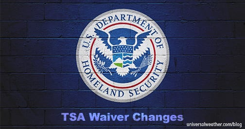 Business Aviation Alert: TSA Waiver Changes Now in Effect