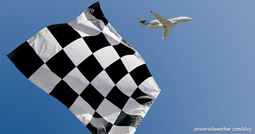 Business Aircraft Ops to the 2016 Melbourne Grand Prix