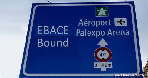 BizAv Trip Planning: EBACE 2016 in Geneva – Part 1: Airport Options