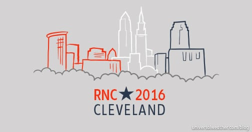 Business Aircraft Ops to 2016 Republican National Convention in Cleveland