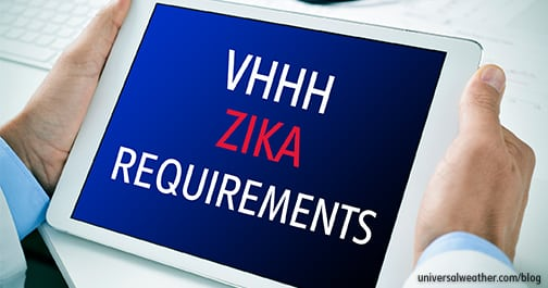 VHHH Zika Virus Requirements – Part 2: Disinsection Options/Considerations