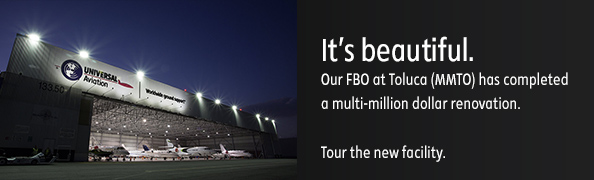 It's beautiful. Our FBO at Toluca (MMTO) has completed a multi-million dollar renovation. Tour the new facility.