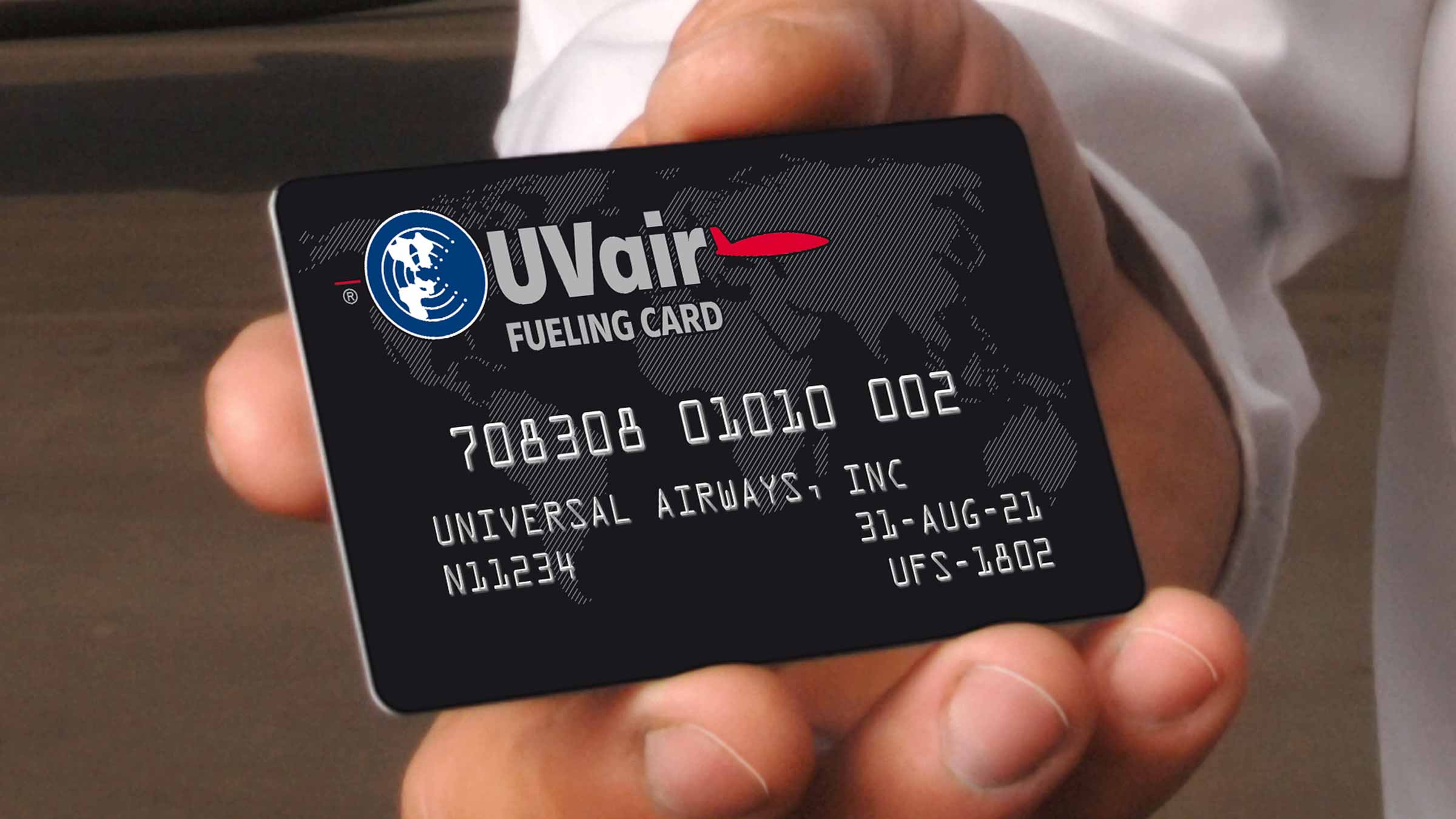 UVair is the fueling division of Universal Weather and Aviation, Inc.